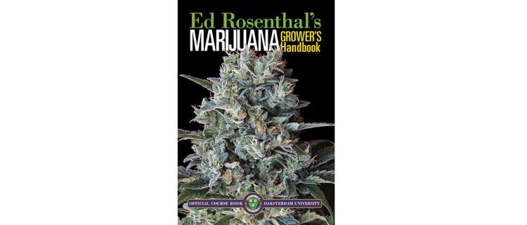 3.Ed Rosenthal's Marijuana Grower's Handbook