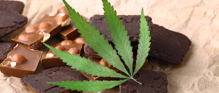 エディブルとはTHCを含む大麻入りのクッキーやブラウニーのこと