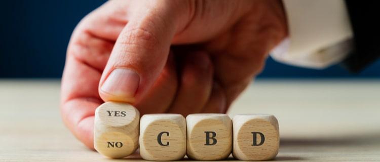 CBDは規制対象外で、合法