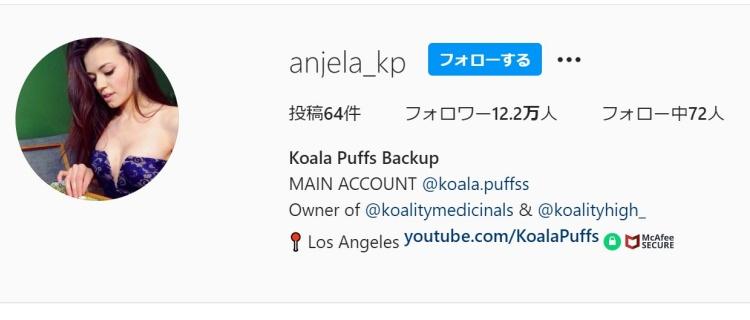 Koala Puffs|YouTubeチャンネルもあり美人で人気