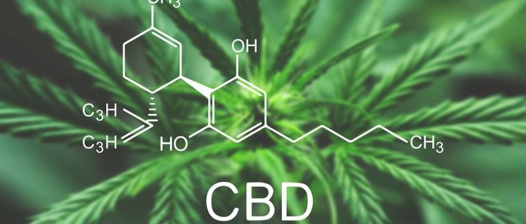 CBD化学式と大麻