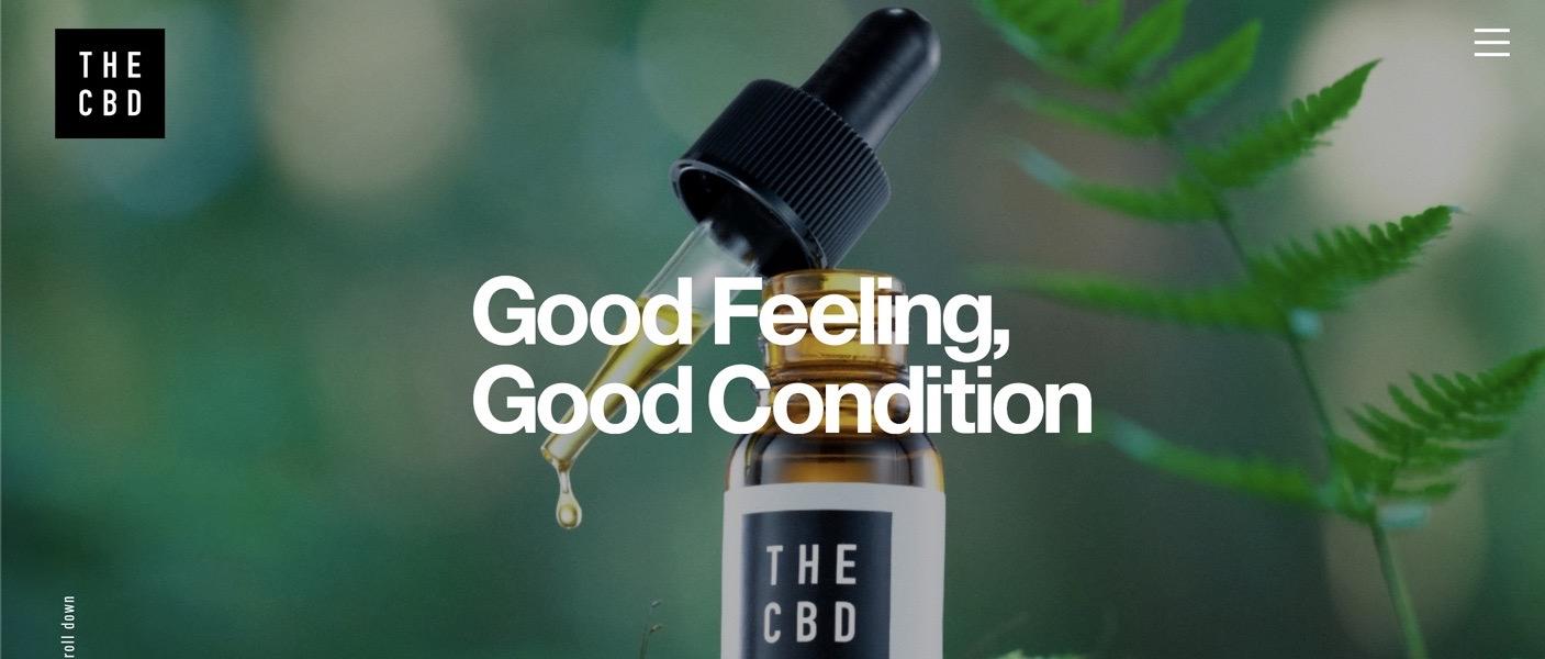 THE CBD 安心・安全に利用できるCBDオイル