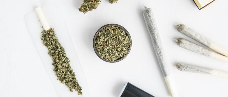 刻んだ大麻