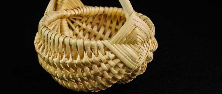 バスケット(かご)|編むと工芸品にも