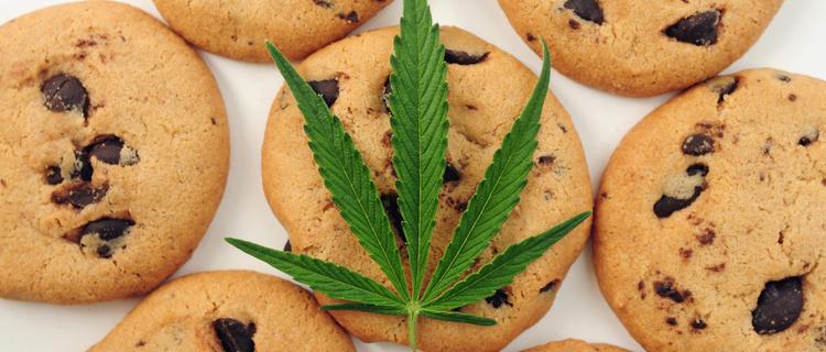 大麻とクッキー