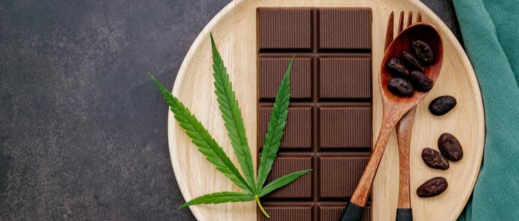 大麻とチョコレート