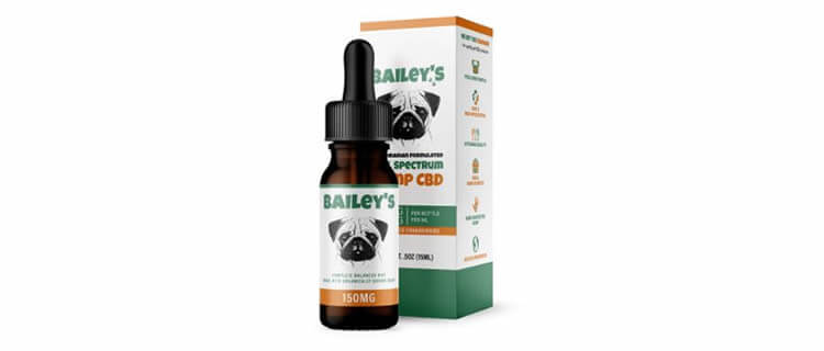 Bailey's 犬用ブロードスペクトラムCBDオイル